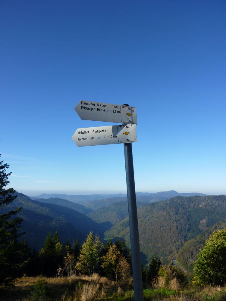 mittelweg schwarzwald karte