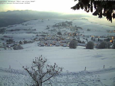 Winter Schwarzwald Webcam Gersbach